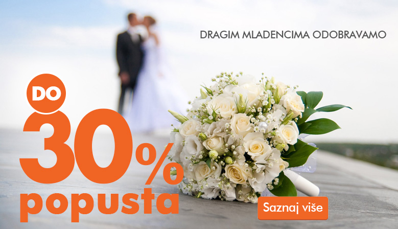 Up to 30% discount for newlyweds